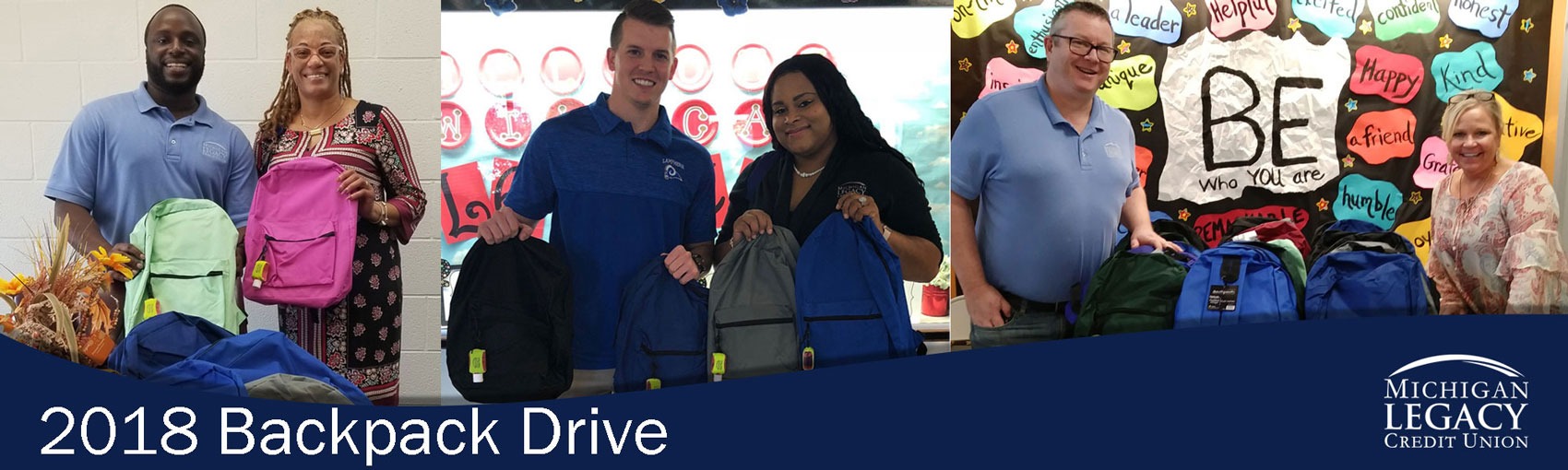 2018 Backpack drive