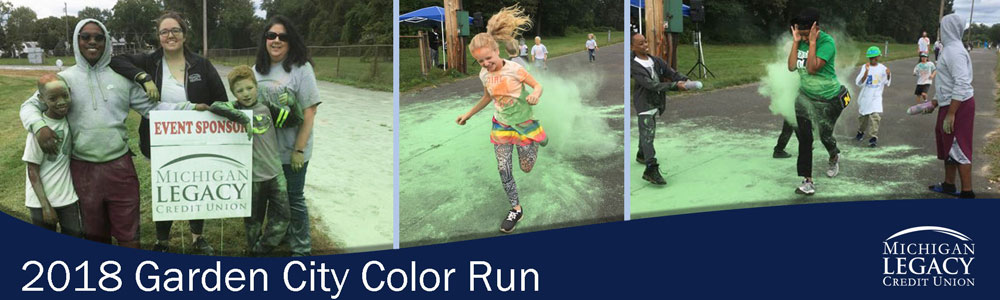 2018 Garden City Color Run